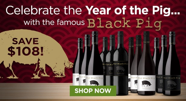 Celebrate the Year of the Pig with the famous BLACK PIG! SAVE $108 - SHOP NOW