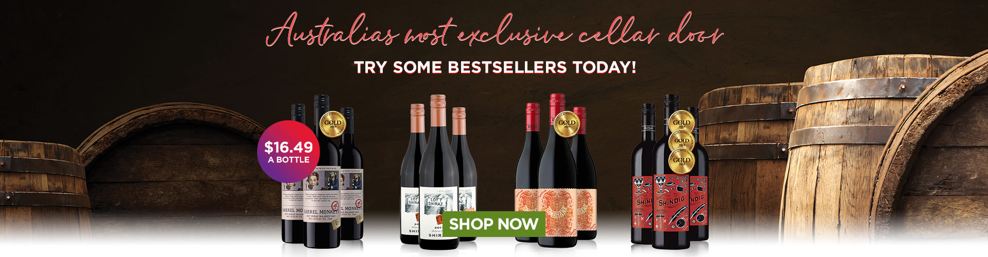 Try these bestsellers from Australias most exclusive cellar door
