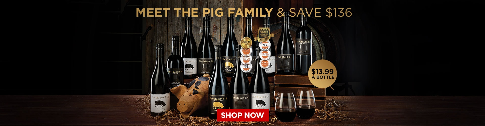 Meet The Black Pig Family - Shop Now