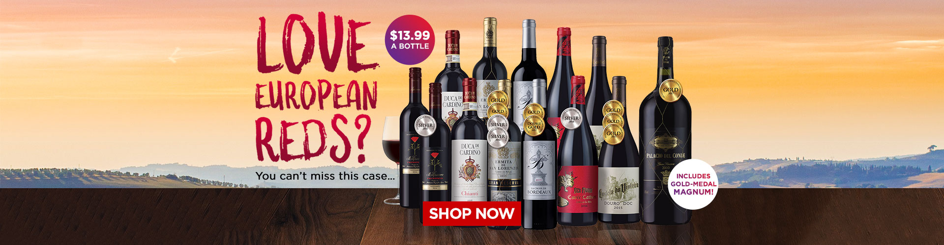 LOVE European Reds? You can't miss this case - Shop Now