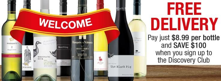 Discovery Club Online Wine Club Virgin Wines Australia