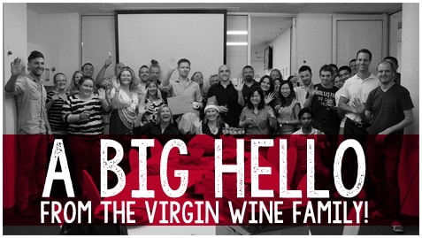 Virgin wine family group picture